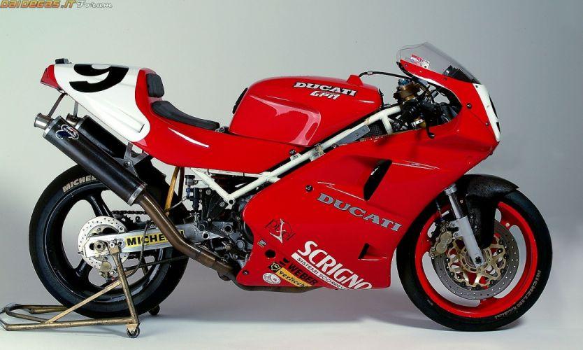 ducati 851 superbike sbk motorcycles wallpaper