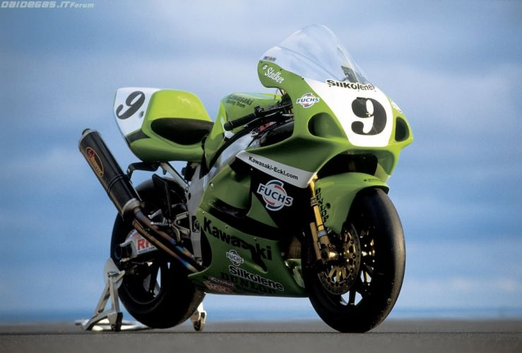 2002 kawasaki zx7rr sbk motorcycles wallpaper