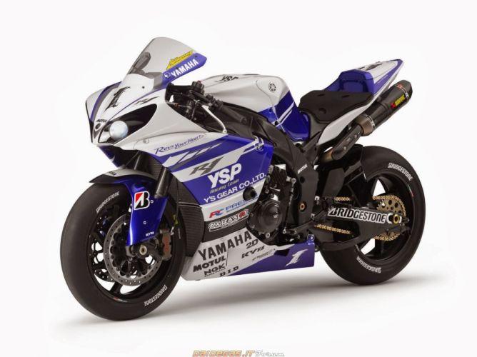 2014 Yamaha (R1) SBK motorcycles wallpaper