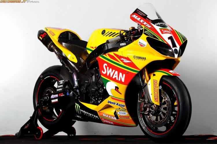 2011 yamaha (r1) bsb superbike sbk wallpaper
