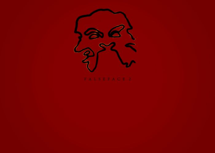Washed Up Wings - Falseface 2 Crimson wallpaper