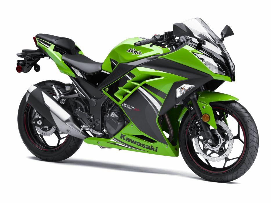 Kawasaki Ninja 300 Special Edition North America motorcycles 2013 wallpaper