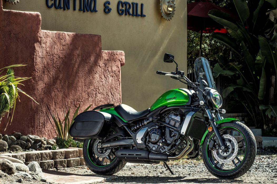 Kawasaki EN650 Vulcan North America motorcycles 2015 wallpaper