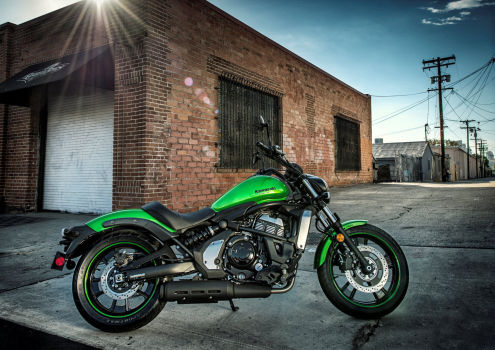 Kawasaki EN650 Vulcan North America motorcycles 2015 wallpaper