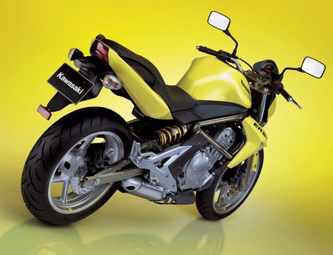 Kawasaki ER-6n motorcycles 2006 wallpaper