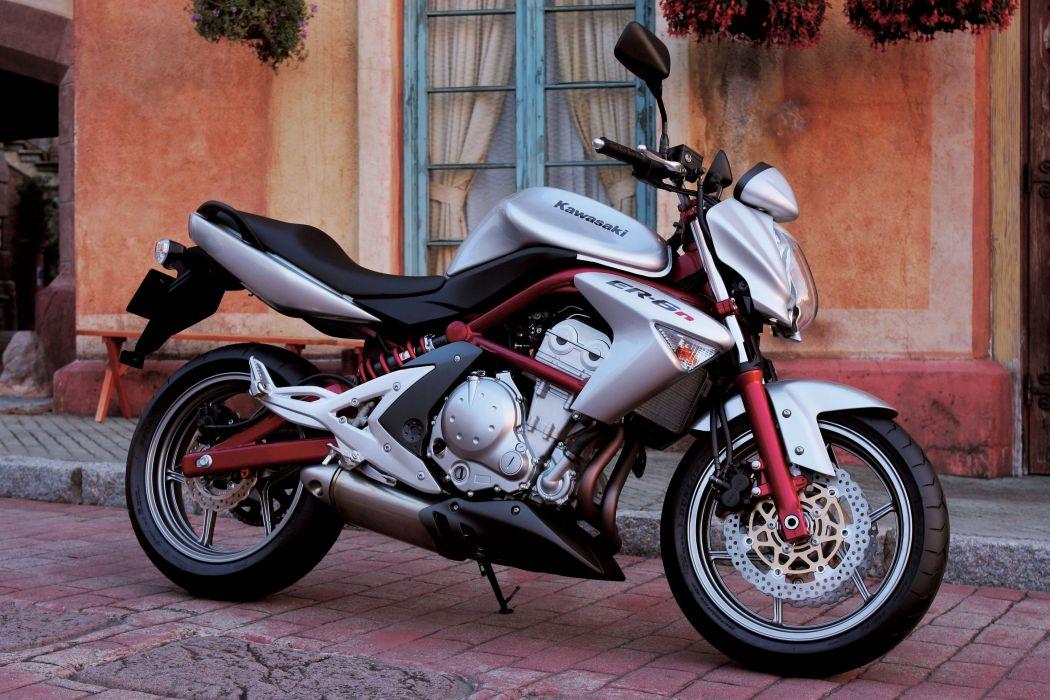 Kawasaki ER-6 motorcycles 2006 wallpaper