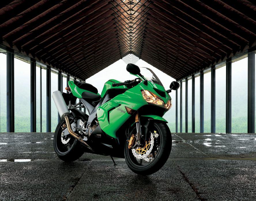 Kawasaki Ninja ZX-10R motorcycles 2004 wallpaper