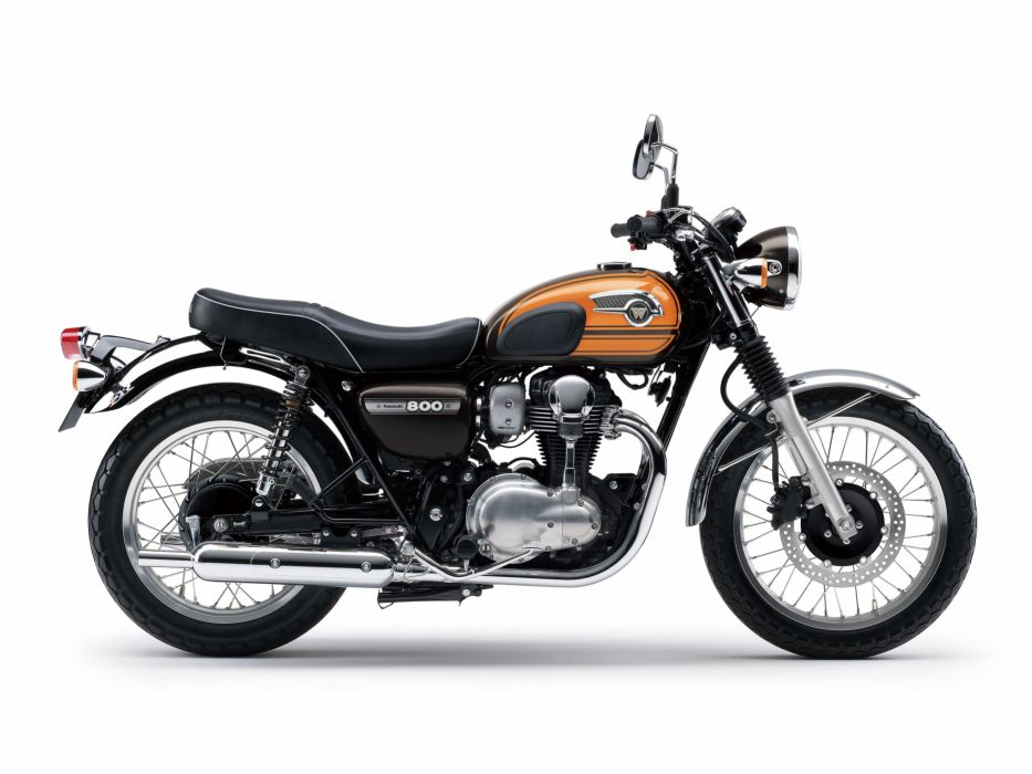 Kawasaki W800 Final Edition Motorcycles 2016 Wallpaper 4093x3072