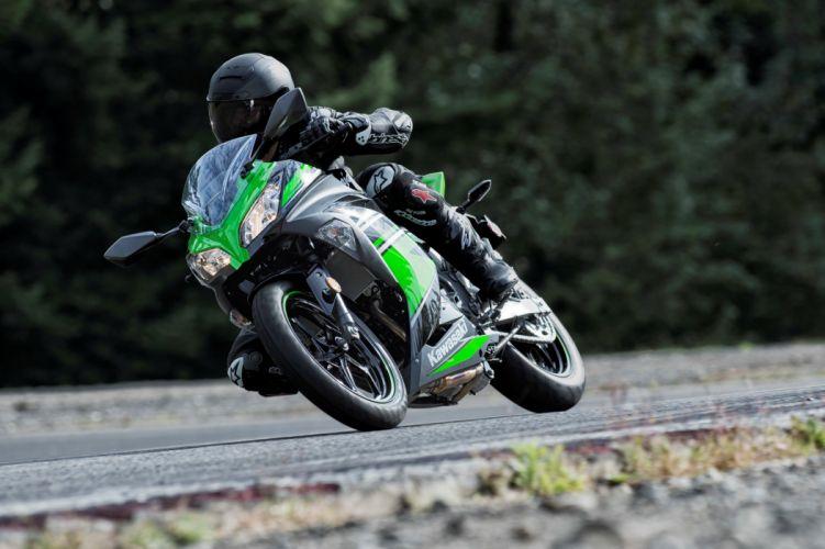 Kawasaki Ninja 300 KRT Edition motorcycles 2015 wallpaper