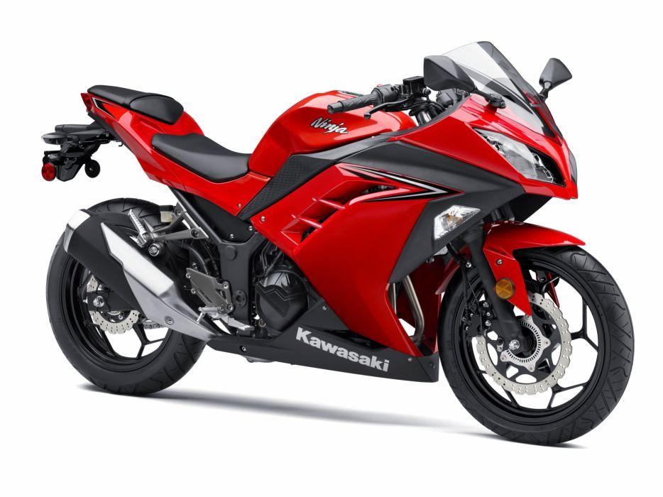 Kawasaki Ninja 300 motorcycles 2013 wallpaper