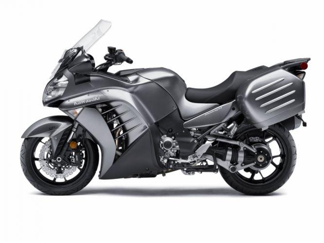 Kawasaki Concours 1400 motorcycles 2015 wallpaper