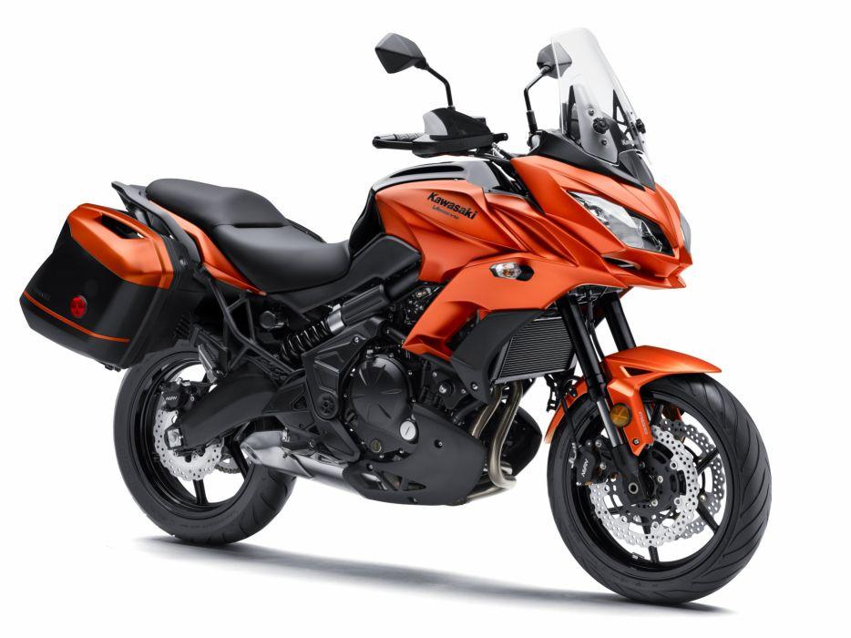Kawasaki Versys 650-LT motorcycles 2015 wallpaper