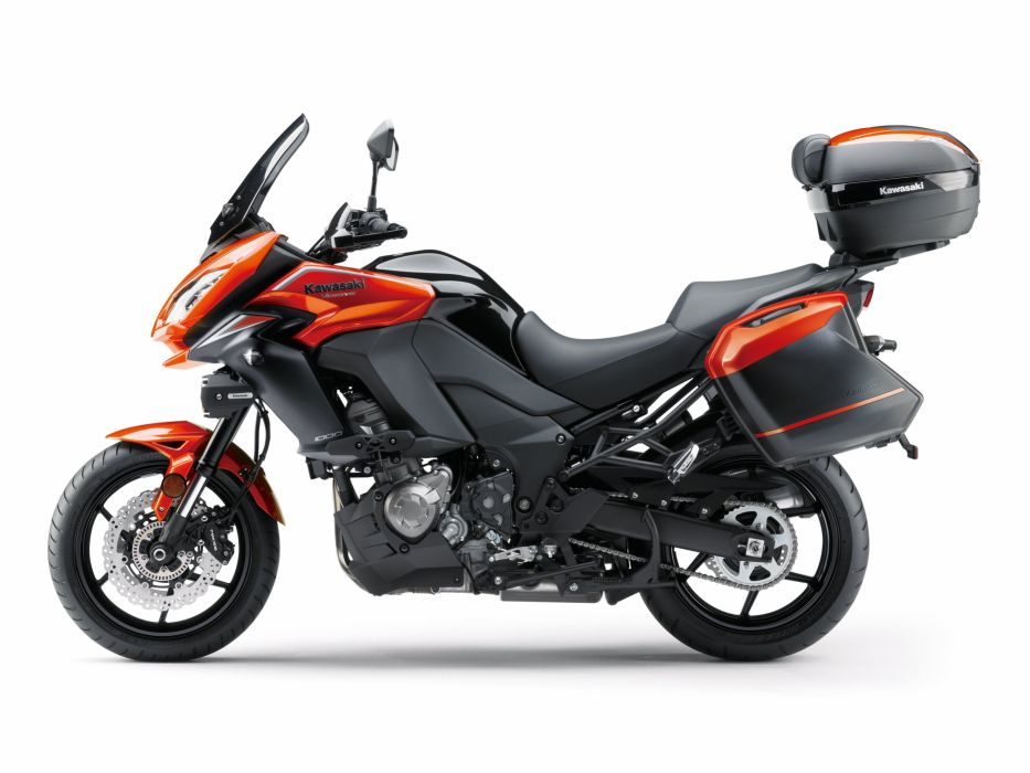 Kawasaki Versys 1000-LT motorcycles 2015 wallpaper