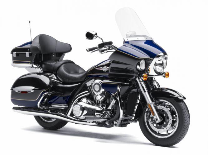 Kawasaki VN-1700 Vulcan voyager motorcycles 2011 wallpaper