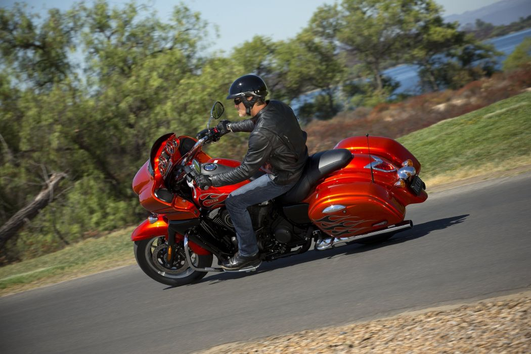 Kawasaki VN-1700 Vaquero motorcycles 2011 wallpaper
