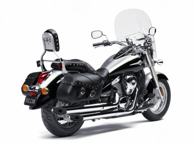 Kawasaki VN900 Vulcan Classic (LT) motorcycles 2011 wallpaper