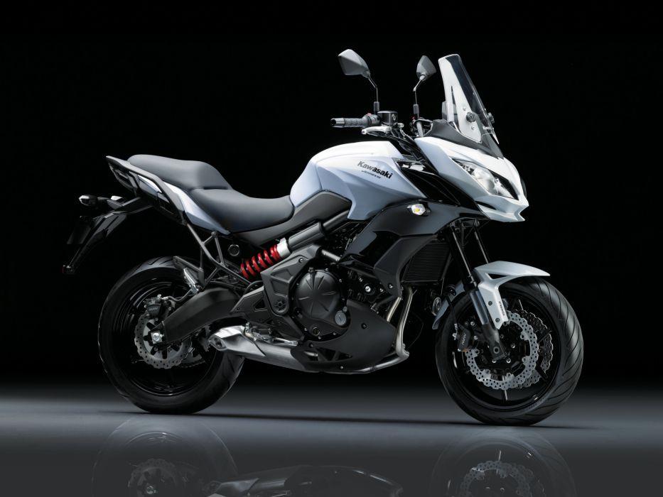 Kawasaki Versys 650 motorcycles 2015 wallpaper