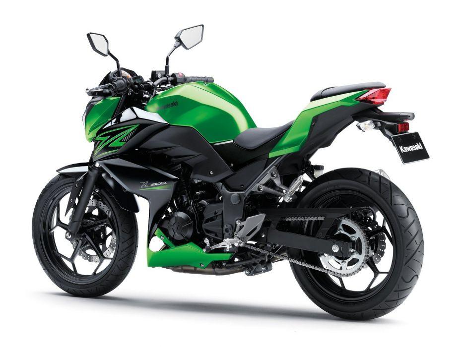 Kawasaki Z300 motorcycles 2015 wallpaper