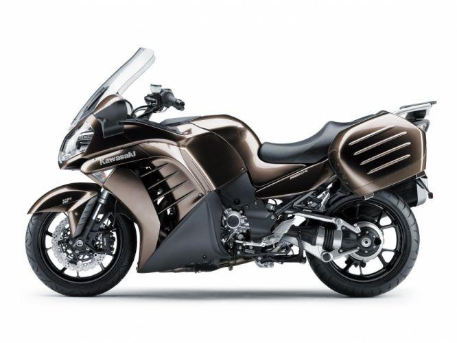 Kawasaki 1400 GTR motorcycles 2007 wallpaper