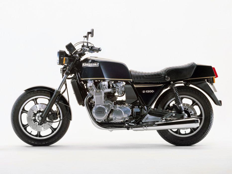 Kawasaki Z1300 motorcycles 1978 wallpaper