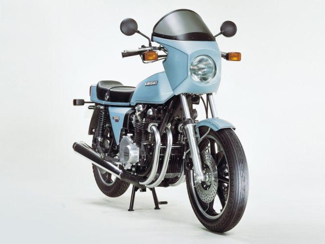 Kawasaki Z1-R motorcycles 1977 wallpaper