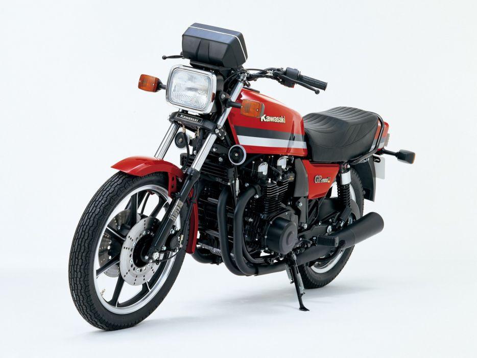 Kawasaki GPZ-1100 motorcycles 1981 wallpaper