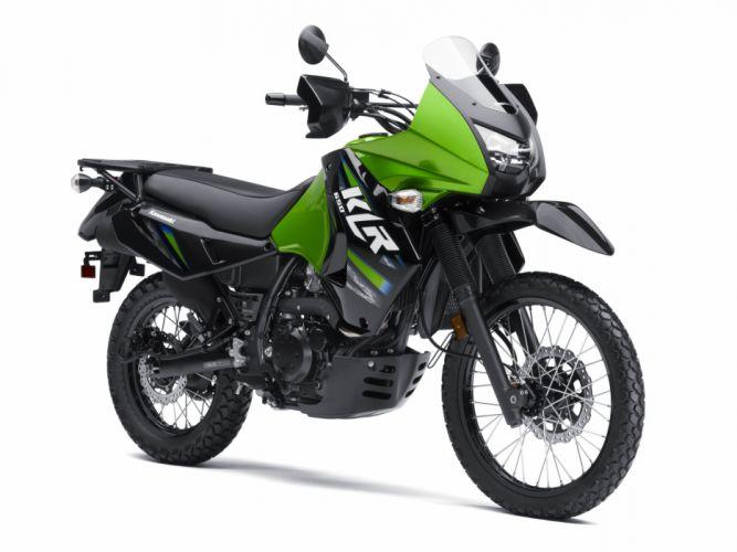 Kawasaki KLR-650 motorcycles 2009 wallpaper