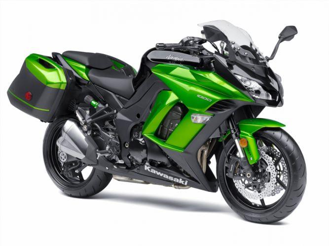 kawasaki Ninja 1000 motorcycles 2015 wallpaper
