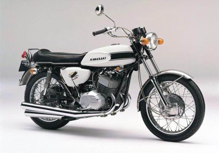 Kawasaki-H1 500-SS Mach III 1969 wallpaper