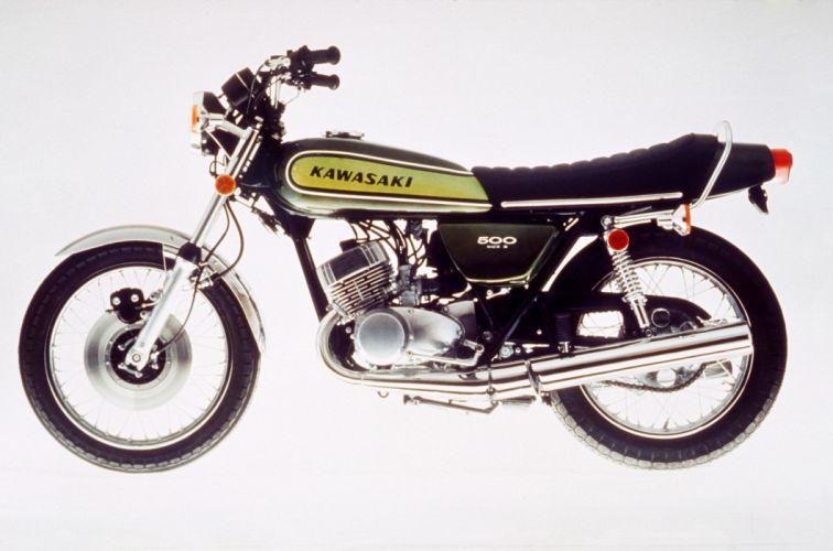 Kawasaki H1D 500 Mach III 1974 wallpaper