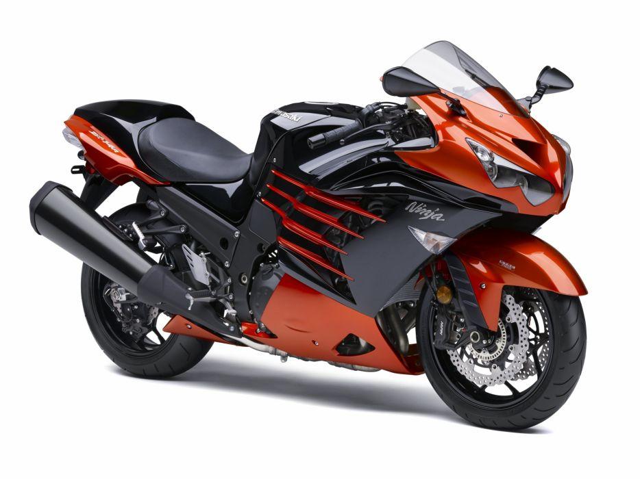 Kawasaki Ninja ZX-14R motorcycles 2012 wallpaper