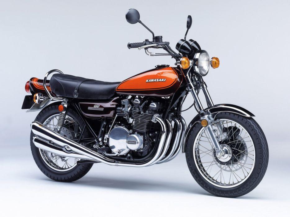 Kawasaki-Z1 900 motorcycles 1972 wallpaper