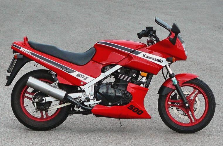 Kawasaki GPZ500-S motorcycles 1987 wallpaper
