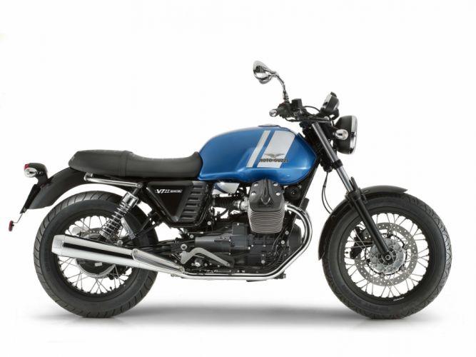 Moto Guzzi V7-II Special motorcycles 2014 wallpaper