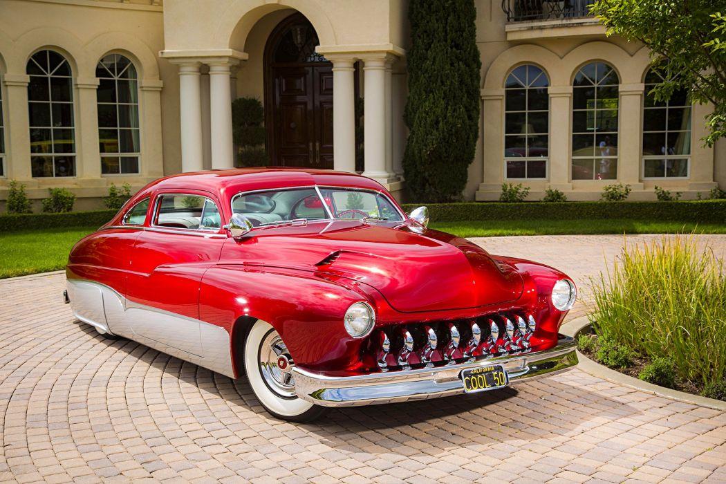 1950 Mercury cars custom wallpaper