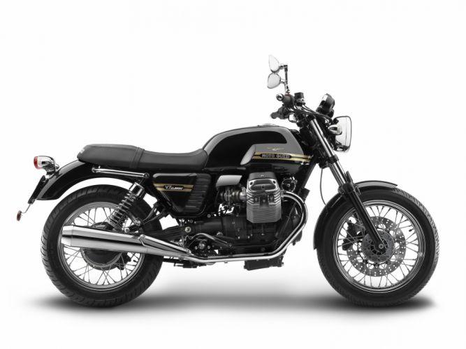 Moto Guzzi (V7) Classic motorcycles 2007 wallpaper