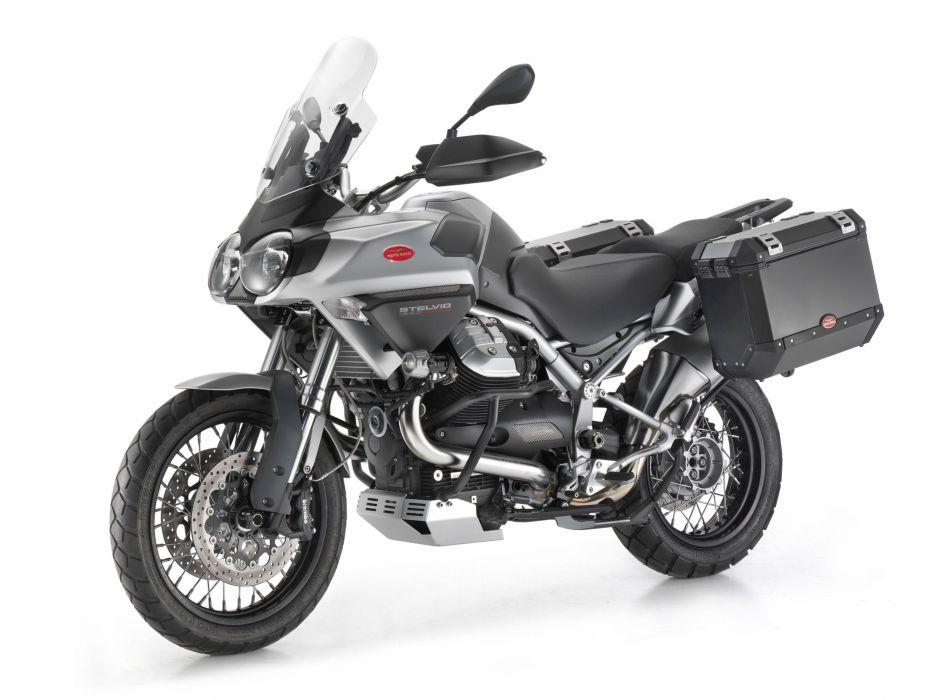 Moto Guzzi Stelvio 1200 8V NTX motorcycles 2014 wallpaper