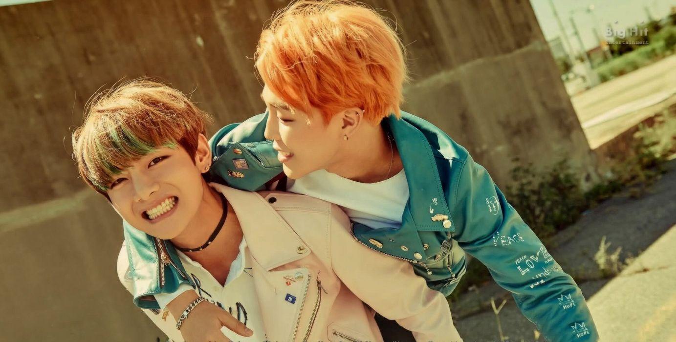 Boys Band Korean BTS V & Jimin #boys #bts #v #jimin #korean #kpop wallpaper