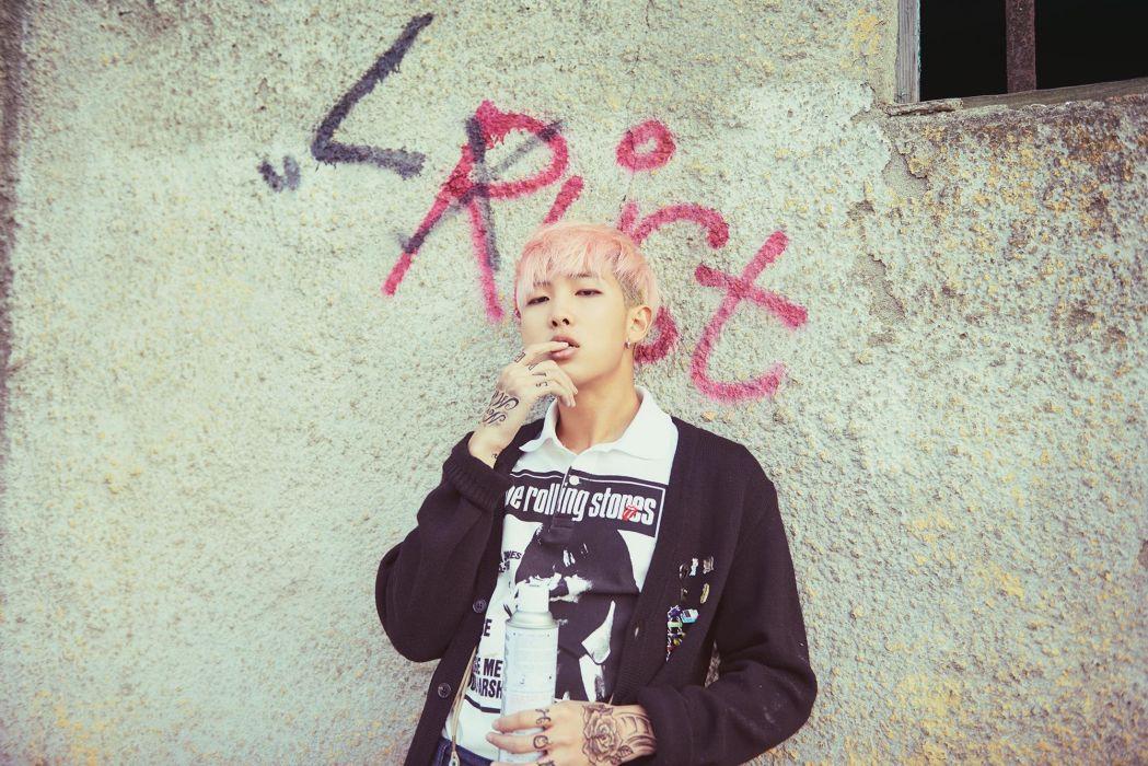 Boys Band Korean BTS Rap Monster #boys #bts #rapmonster #korean #kpop wallpaper
