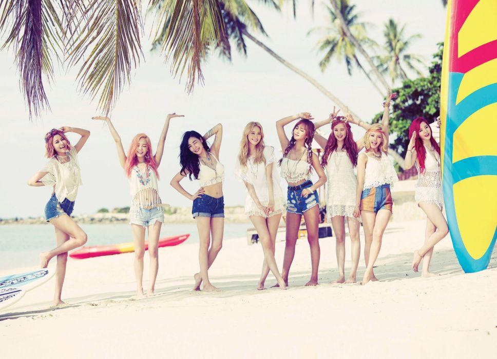 Girl's Band Korean Girls Generation SNSD All Member #girls #girlsgeneration #snsd #korean #kpop wallpaper