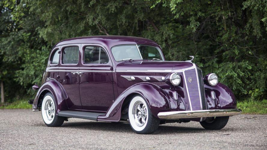 1936 DESOTO SEDAN STREET ROD cars Purple wallpaper