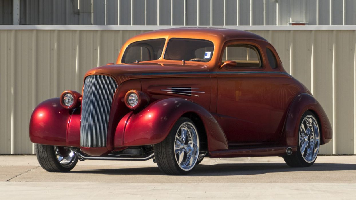 1937 CHEVROLET COUPE STREET ROD cars wallpaper