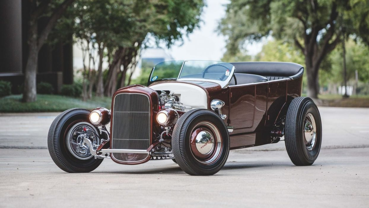 1927 FORD CUSTOM TOURING cars wallpaper