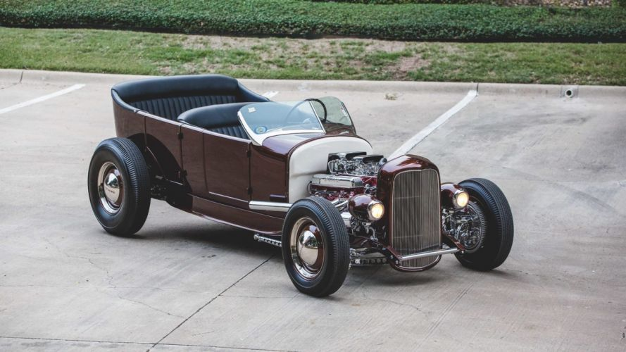 1927 FORD CUSTOM TOURING cars wallpaper