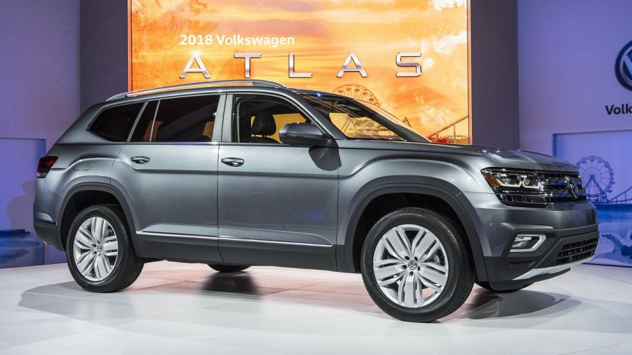 2017 atlas cars suv volkswagen wallpaper