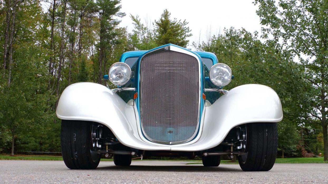 1935 CHEVROLET SEDAN STREET ROD cars wallpaper