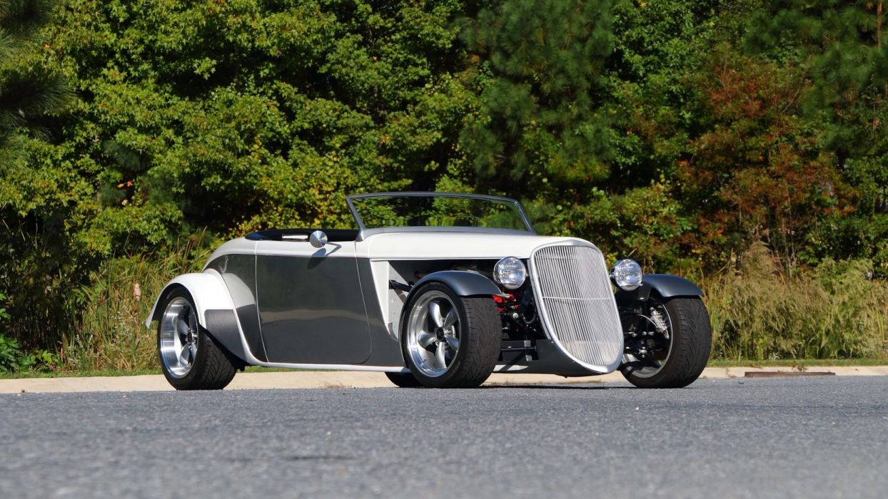 1933 FORD FACTORY FIVE ROADSTER rod cars wallpaper