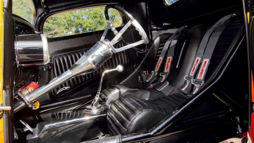 1934 FORD 3-WINDOW COUPE DRAGSTER cars wallpaper