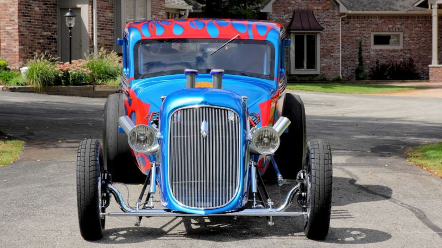 1934 PLYMOUTH COUPE HOT ROD cars wallpaper
