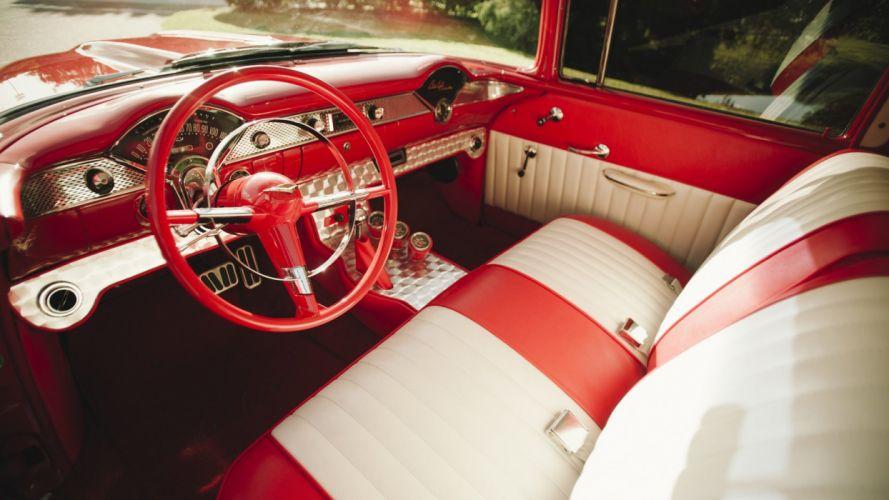 1955 CHEVROLET 210 RESTO MOD cars classic wallpaper